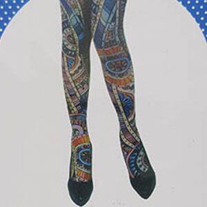 גרבי ברך פסיכדליים: גרביונים לנשים איכותיות עד הברך למסיבת טבע