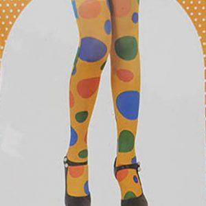 גרבי ברך ליצן : גרביונים לנשים איכותיות עד הברך לתחפושת ליצנית