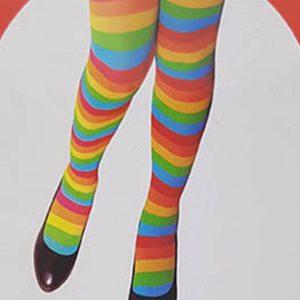 גרבי ברך ליצנית: גרביונים לנשים איכותיות עד הברך לתחפושת ליצנית