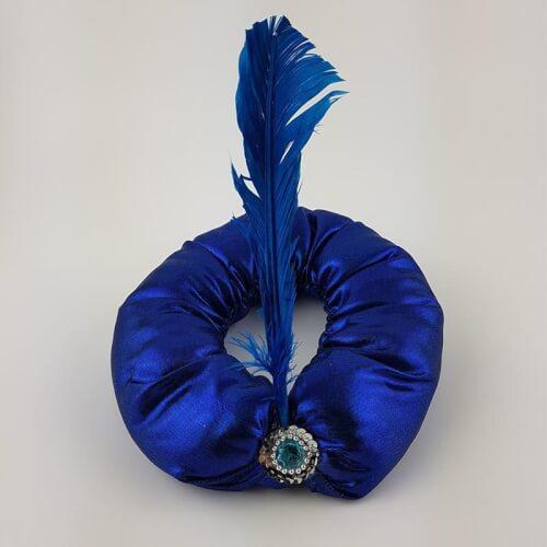 כובע אלדין כחול כובע לפורים של הנסיך אלדין