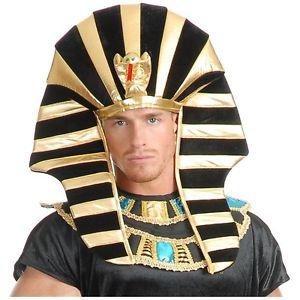 כובע פרעה מלך מצרים כובע מהודר לתחפושת פרעה