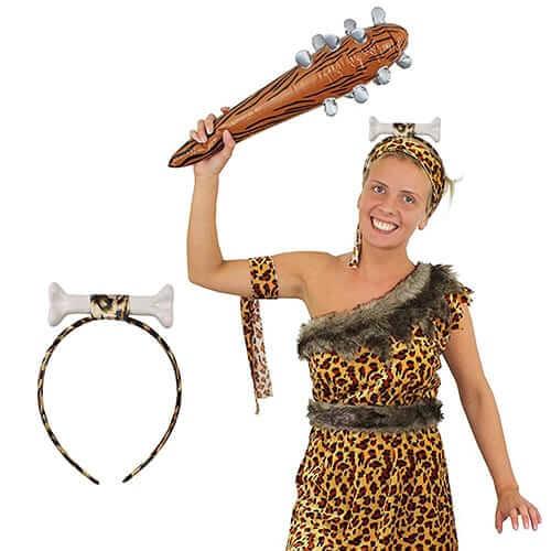 קשת עצם קטנה מהודרת קשת לראש של אשת מערות