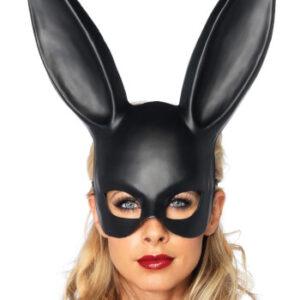 מסכת ארנב קטיפה לאישה מסכה נשף לאישה יוקרתית ומיוחדת