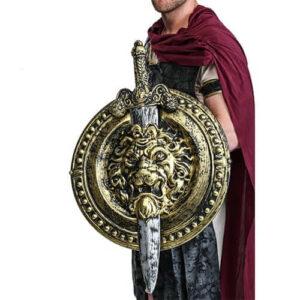 חרב ומגן אריה גלדיאטור