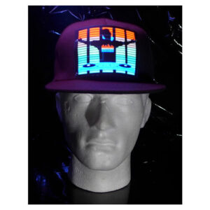 כובע אקולייזר Lighting LED cap – DJ דגם DJ