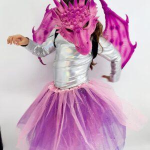 תחפושת דרקונית לילדות מעוצבת